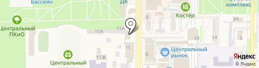 Киоск по ремонту обуви на карте Котовска