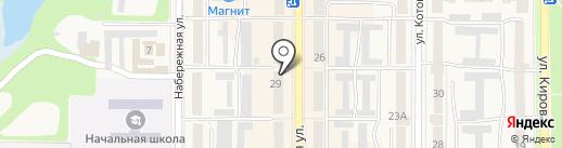Кровля на карте Котовска