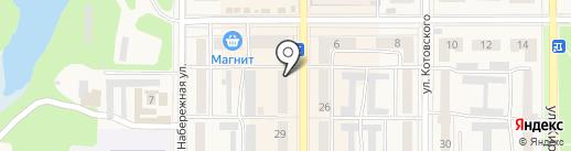 Антошка на карте Котовска