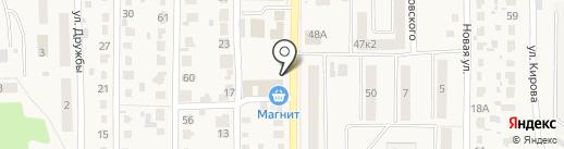 Магазин кондитерских изделий на карте Котовска