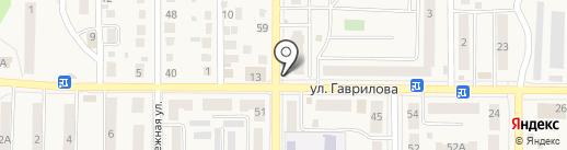 У перекрестка на карте Котовска