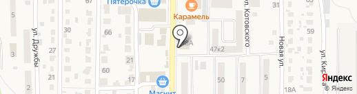 Магазин детских товаров на карте Котовска