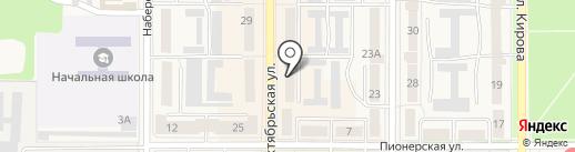 Центр на карте Котовска