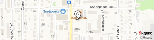 Моршанский Купец на карте Котовска
