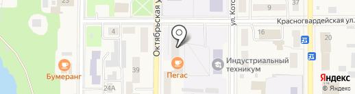 Общежитие на карте Котовска