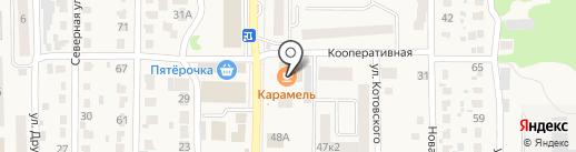 Русская баня на карте Котовска