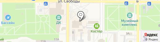 Фонд социального страхования РФ на карте Котовска