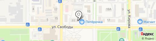 Магазин игрушек на карте Котовска