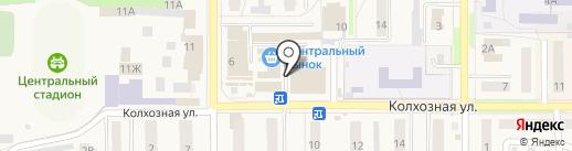 Тамбовский бройлер на карте Котовска