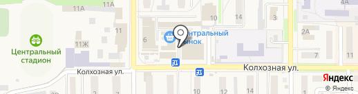 Магазин бытовой химии на карте Котовска