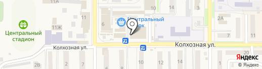 Дымок на карте Котовска