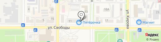 Эльф на карте Котовска