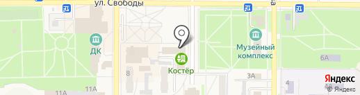 Территориальный орган Федеральной службы государственной статистики по Тамбовской области на карте Котовска