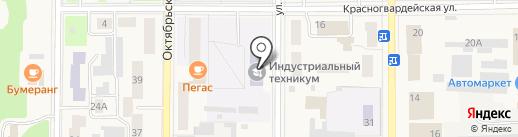 КИТ на карте Котовска