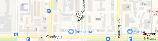 Котовский городской отдел судебных приставов на карте Котовска