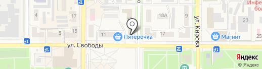 Юлмарт на карте Котовска