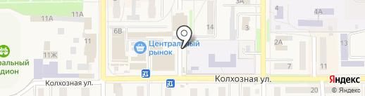 Орбита на карте Котовска