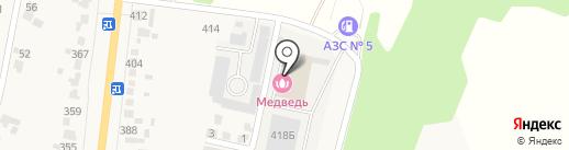 Авторемонтная мастерская на карте Донского