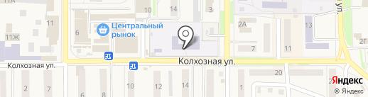 Комбинат школьного питания на карте Котовска