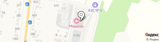 Авторемонтная мастерская на Советской на карте Донского