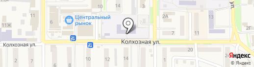 Средняя общеобразовательная школа №3 с углубленным изучением отдельных предметов г. Котовска на карте Котовска