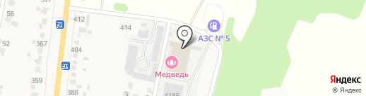 Ригель на карте Донского