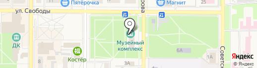 ЗАГС г. Котовска на карте Котовска