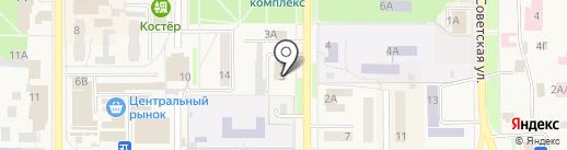 Котовский городской суд Тамбовской области на карте Котовска