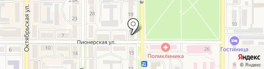 Большая разница на карте Котовска