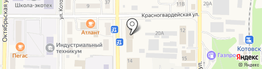 Пятёрочка на карте Котовска