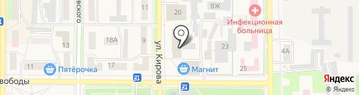 Фортуна на карте Котовска