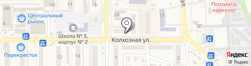 Самоделкин на карте Котовска