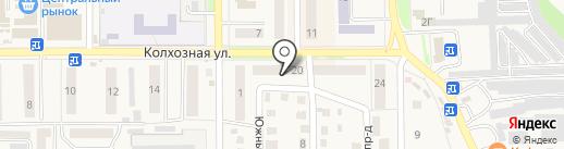 Вырастайка на карте Котовска