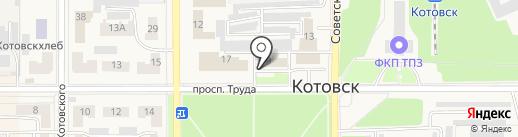 Столярная мастерская на карте Котовска