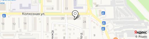 Акцент на карте Котовска