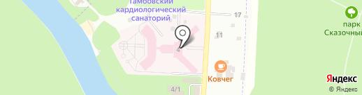 Тамбовский Геронтологический Центр на карте Тамбова
