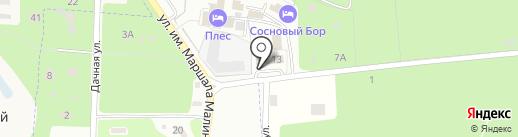 Кувшин на карте Тамбова