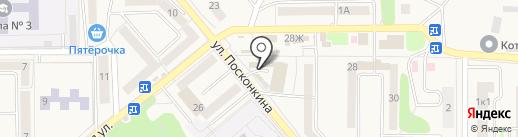 Профи на карте Котовска