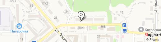 Известняк на карте Котовска