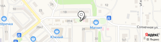 Заправочная станция на карте Котовска