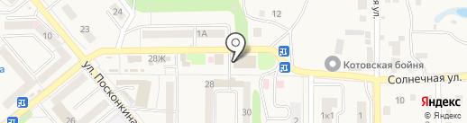 Лиман на карте Котовска