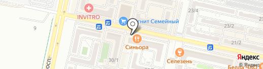 Пивной бар`ON на карте Ставрополя
