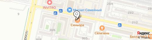 Апартаменты Милана на карте Ставрополя
