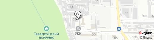 СтавТехАвто на карте Ставрополя