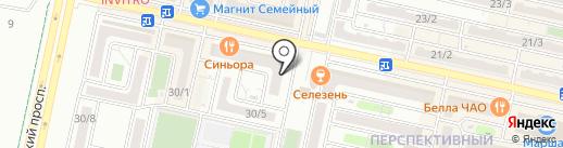 Брусника на карте Ставрополя