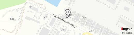 Deluxe Avto на карте Ставрополя