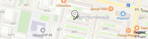 Антикор & Пескоструй на карте Ставрополя