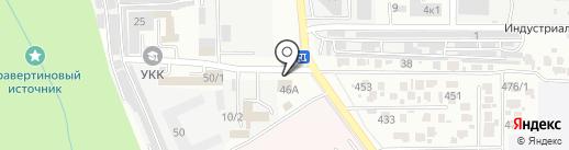 Чебоко-Ставрополь на карте Ставрополя