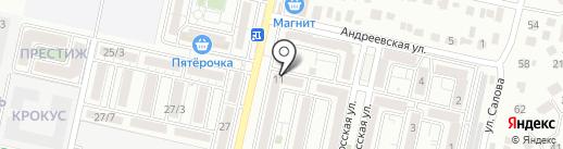 Мини-маркет на карте Ставрополя