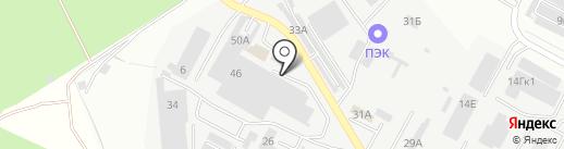 Сеттфилд на карте Ставрополя